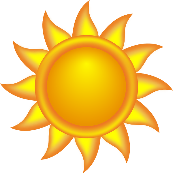 Decorative Sun Clip Art at Clker.com.