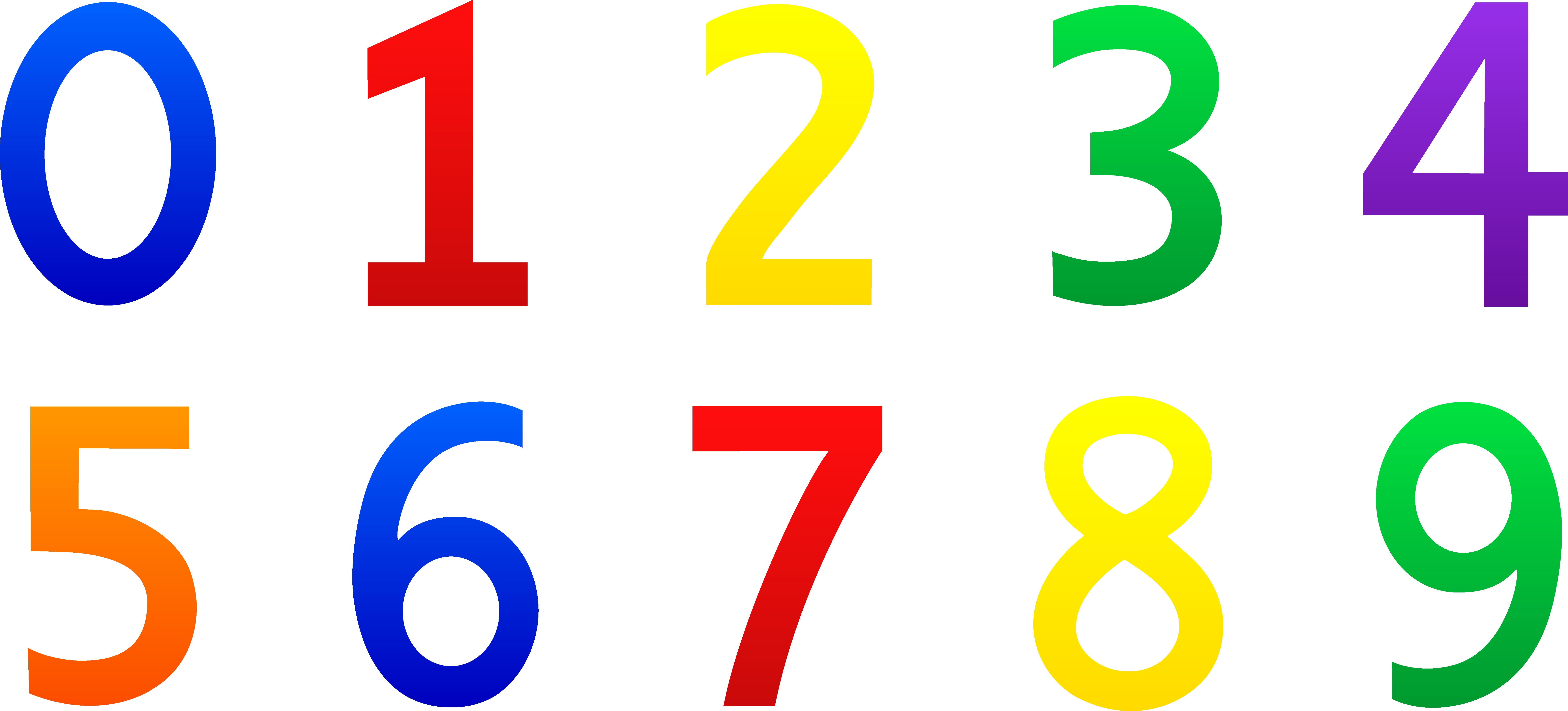 Number 4 clipart natural number, Number 4 natural number.