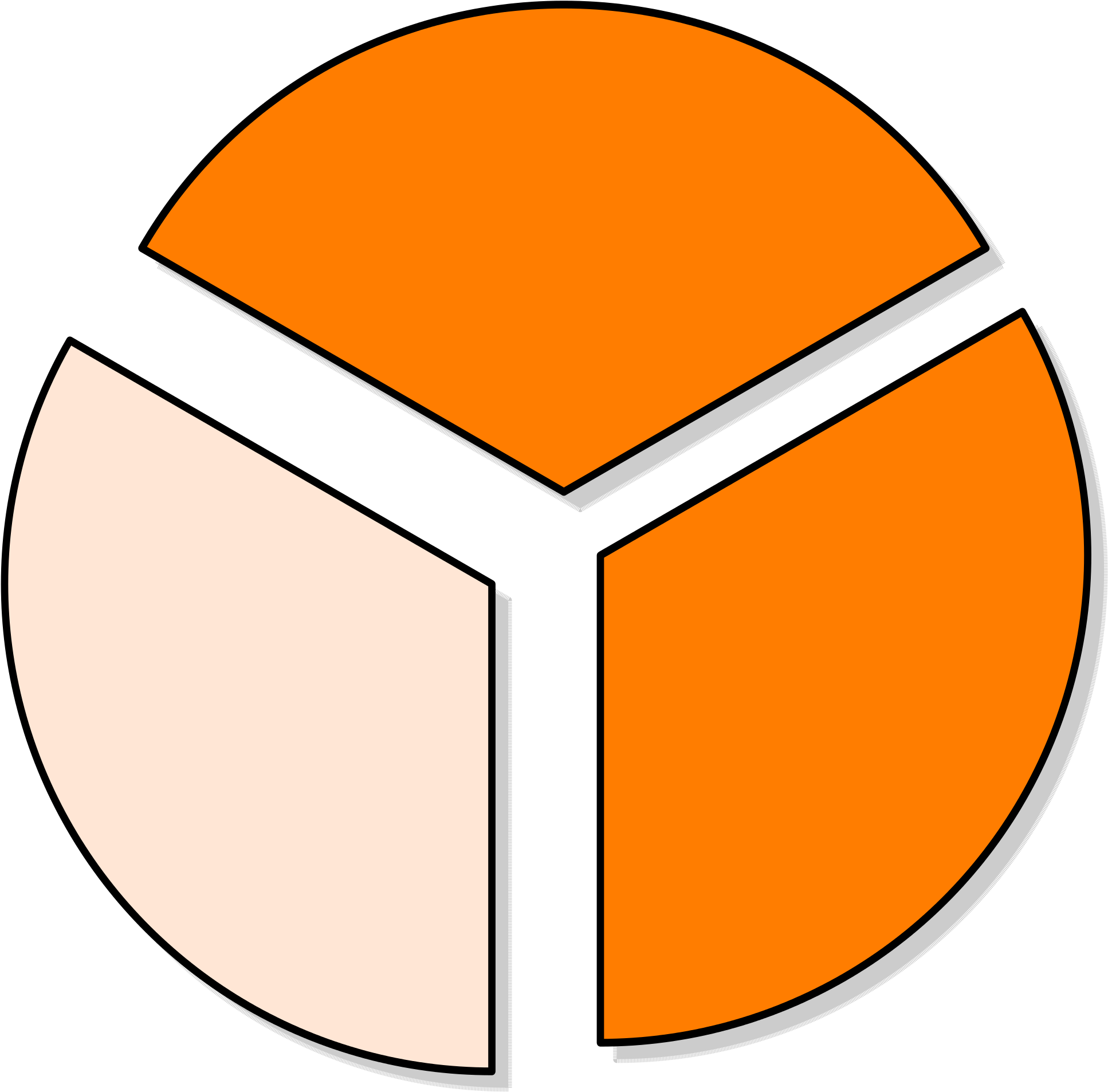 Collection Of Pie Chart Cliparts.