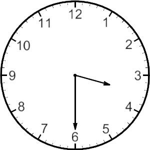 Analog Clock Clipart.