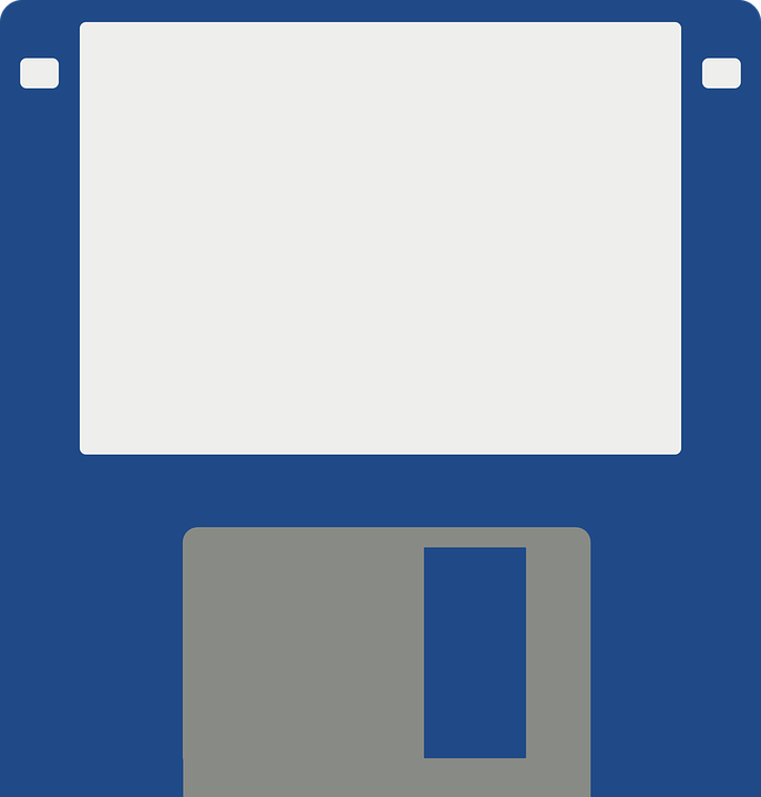 Free vector graphic: Floppy, Disk, 1 44 Inches, Drive.