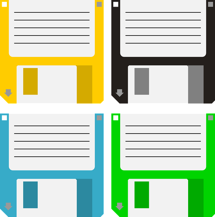 Free vector graphic: Floppy, Disk, Data Storage, Old.