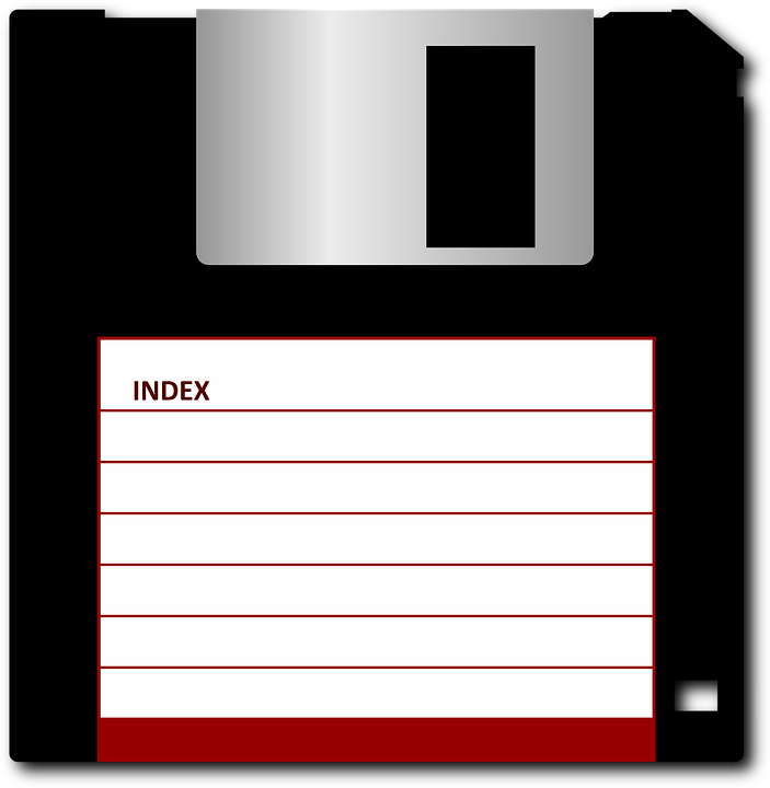 Free vector graphic: Disk, Floppy, Computer, 1 44 Inches.