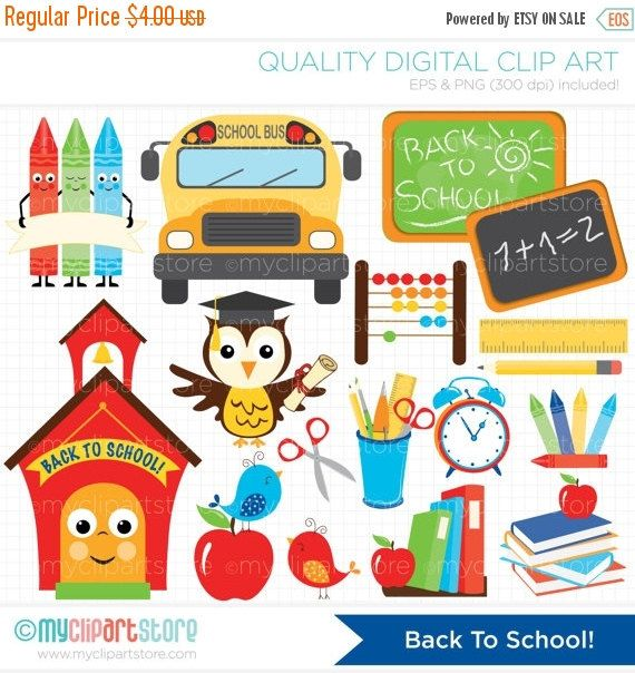 1000+ ideas about Back To School Clipart on Pinterest.