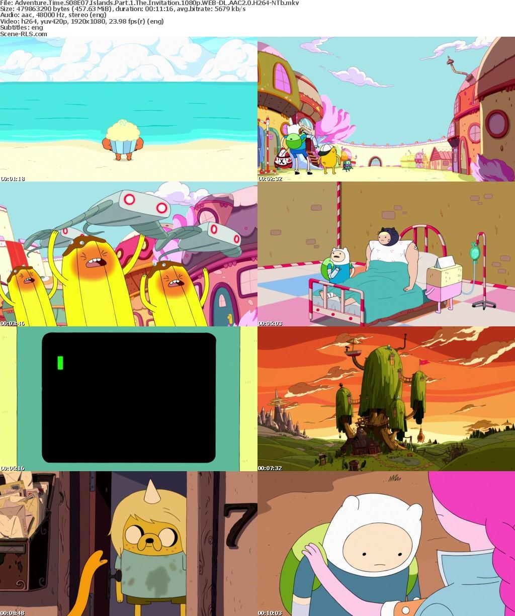 Adventure Time S08E07 Islands Part 1 The Invitation 720p WEB.