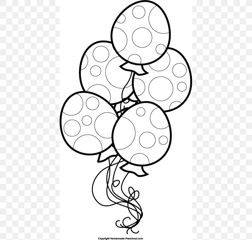 Birthday Cake Black And White Balloon Clip Art, PNG.