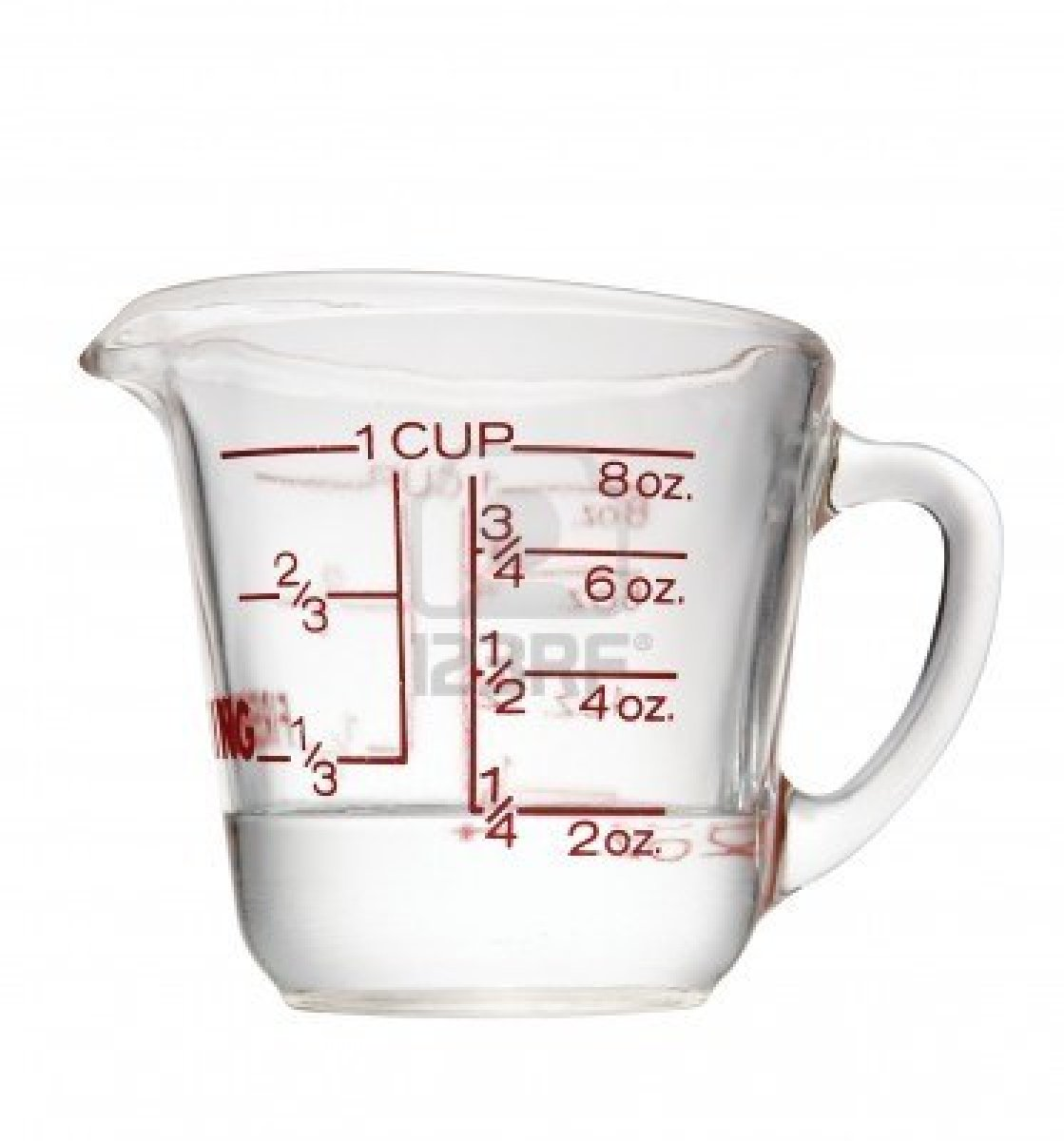 Liquid Measuring Cups Clipart.