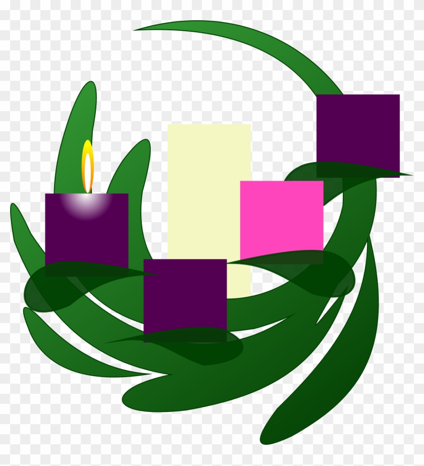 This Free Icons Png Design Of Advent 1 Wreath.