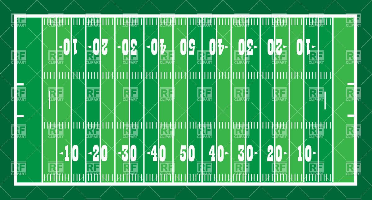 646 Football Field free clipart.