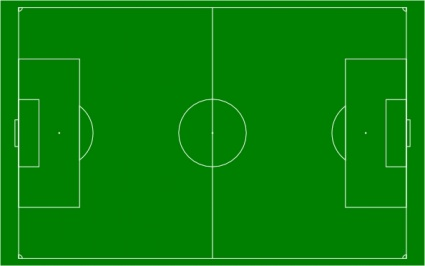 Free download of Soccer Field Football Pitch clip art Vector.