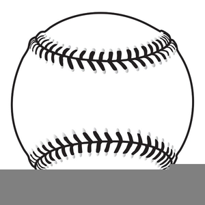 Free Baseball Clipart Black And White.