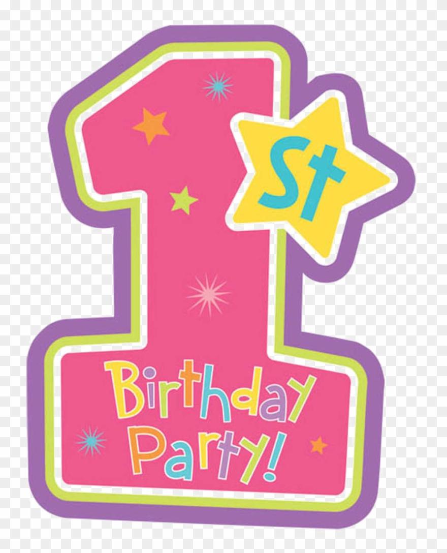 1 Vector Happy 1st Birthday.