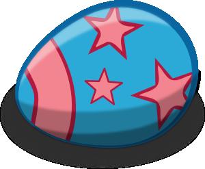Blue Easter Egg Clip Art at Clker.com.