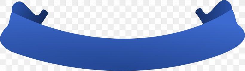 Blue Ribbon Banner Clip Art, PNG, 2245x656px, Ribbon.