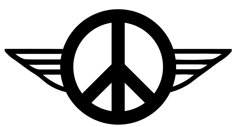 Free Clipart: Wings of Peace 1.
