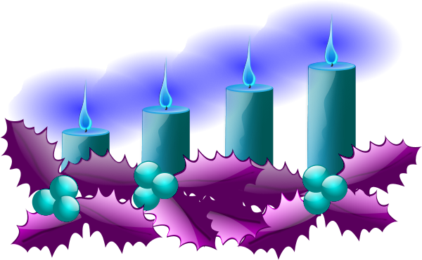 Advent candles clipart 1 » Clipart Station.