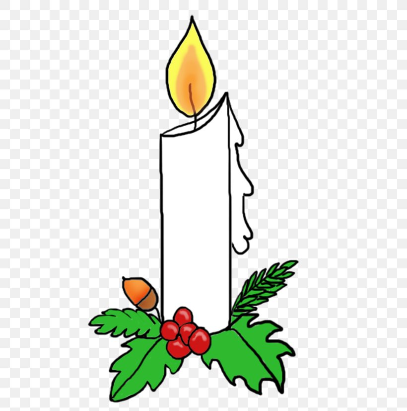 Santa Claus Christmas Advent Candle Clip Art, PNG, 504x827px.