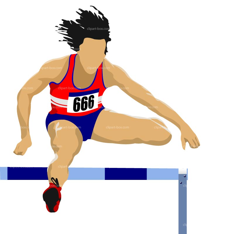 Track hurdles clipart clipart images gallery for free.
