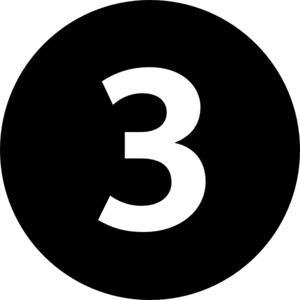 Number In Circle Clipart.