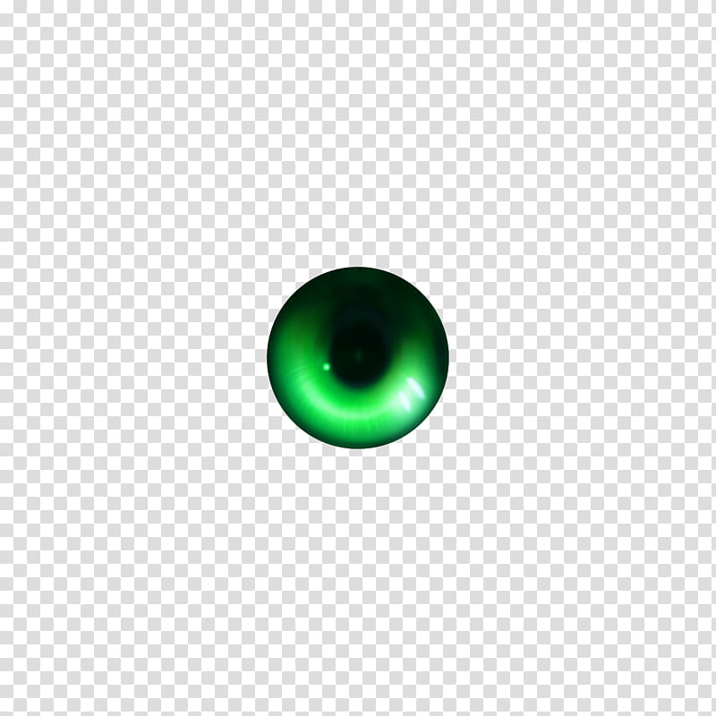 Eye Tex Style , green and black eye transparent background.
