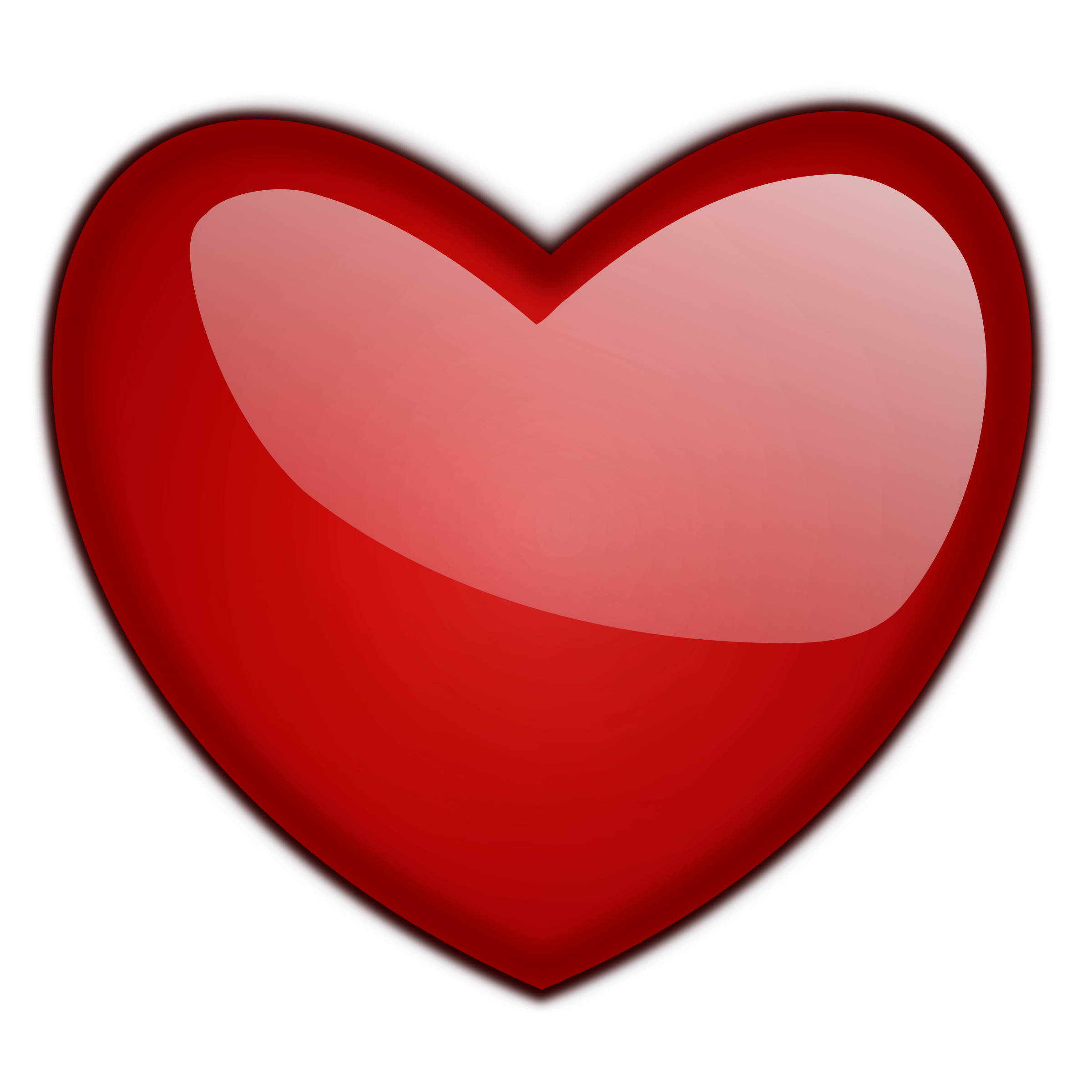 Number 1 clipart heart, Number 1 heart Transparent FREE for.