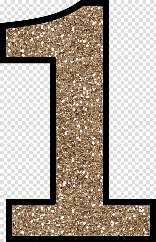 Number 1 glitter , Number Glitter Craft Letter Cardmaking.
