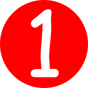 Free Red Number 1 Cliparts, Download Free Clip Art, Free.