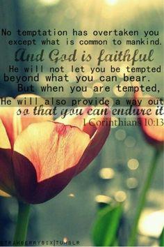 1 Corinthians 10 13 Clipart.