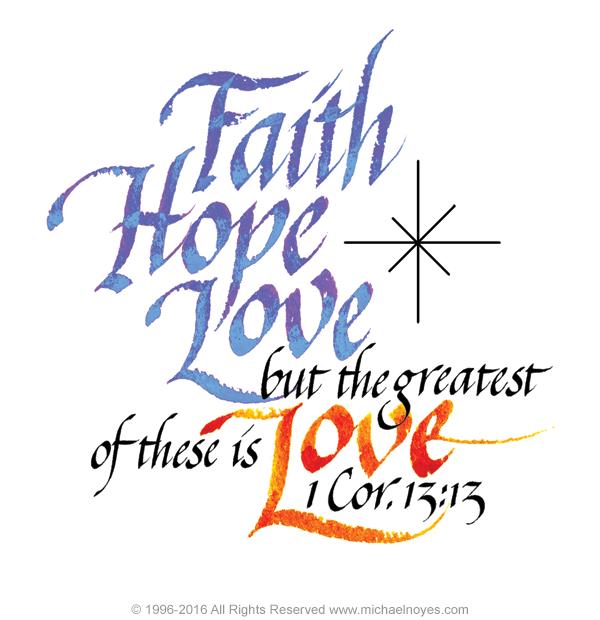 1 Corinthians 13 Clip Art.
