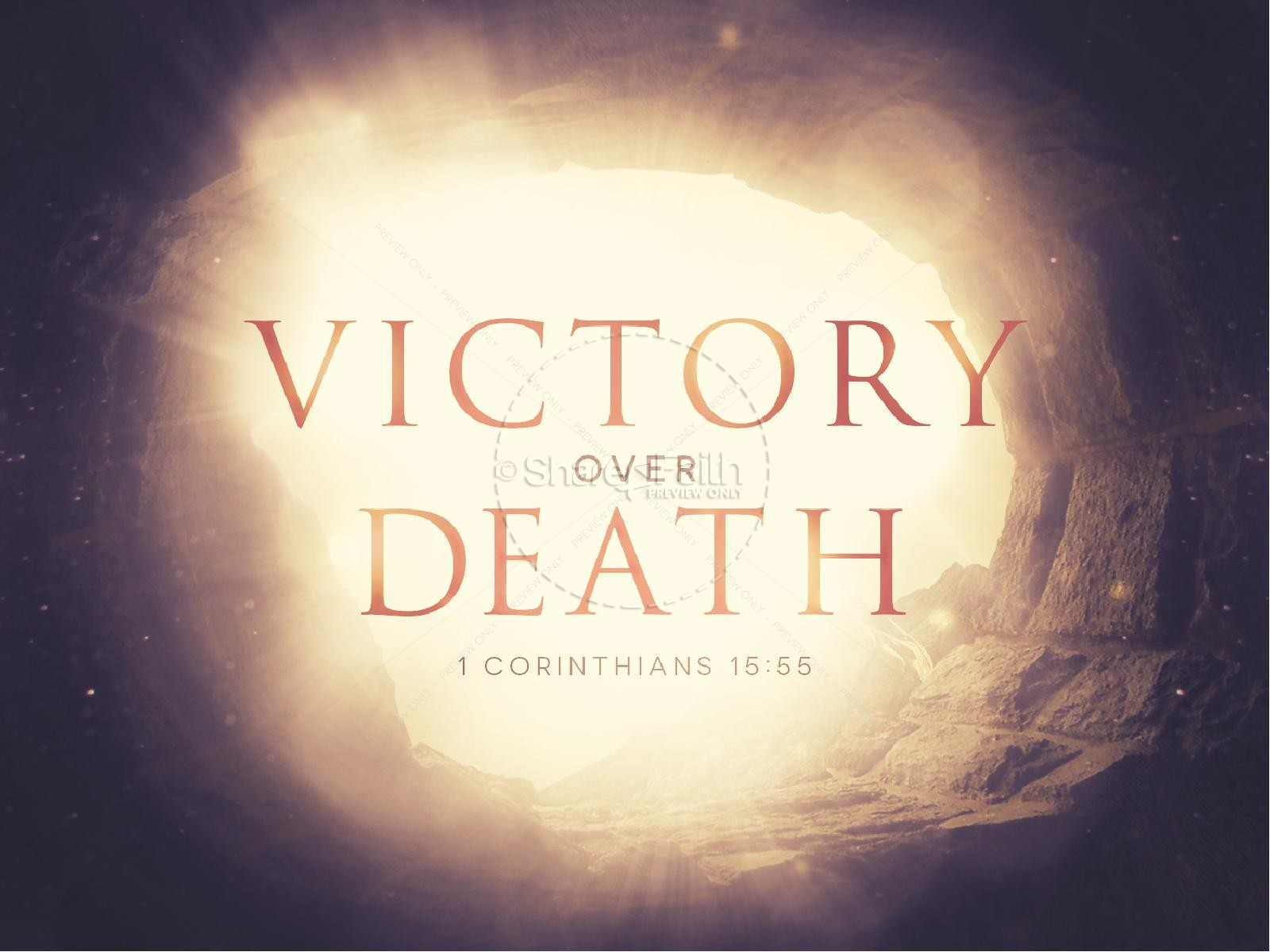 Victory Over Death Easter PowerPoint.