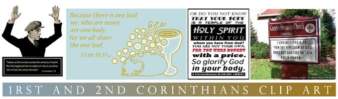 Christian Clip Art Review: 1rst and 2nd Corinthians Clip Art.
