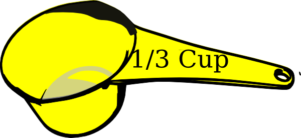 414 Measuring Cup free clipart.