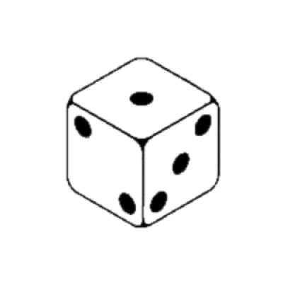 Download 1 Dice Images Png Image Clipart PNG Free.