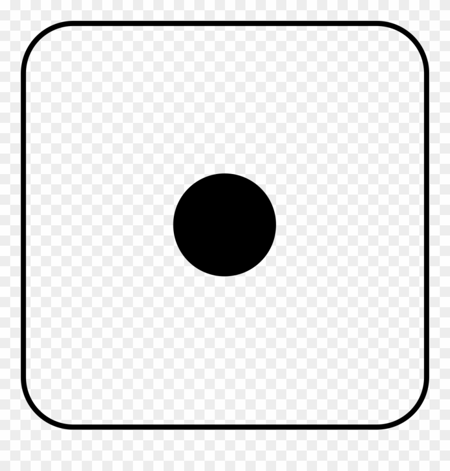 Similiar Dice Number 1 Keywords Blank Domino Clip Art.