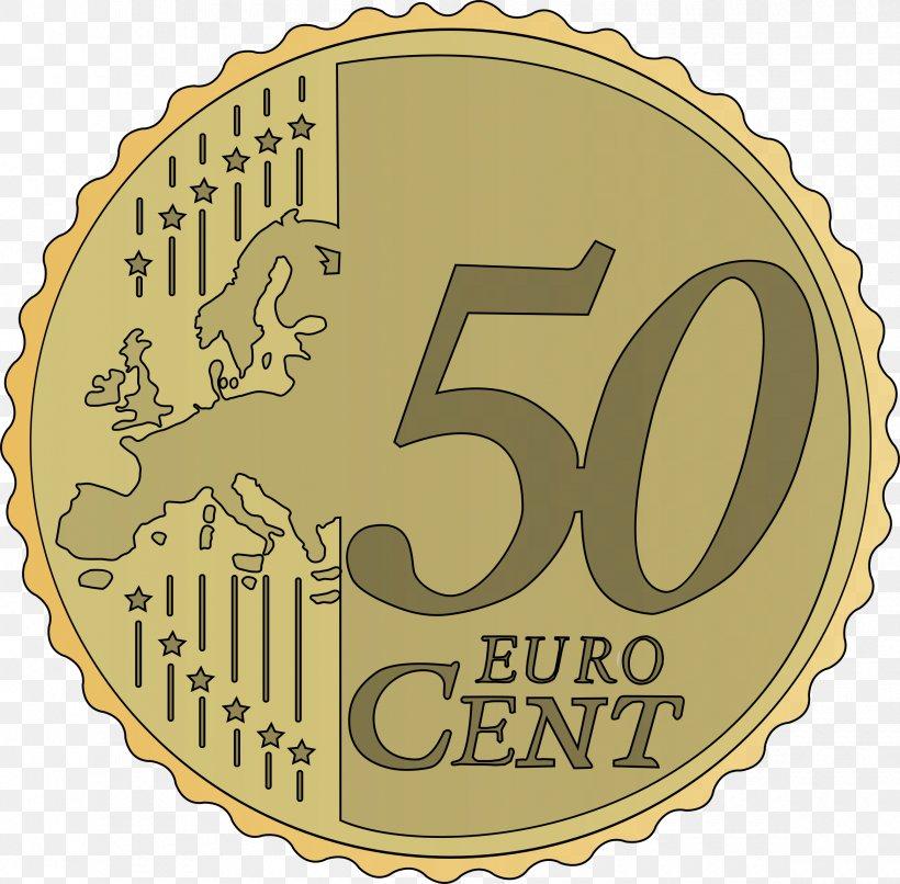 1 Cent Euro Coin 50 Cent Euro Coin 10 Cent Euro Coin Clip.
