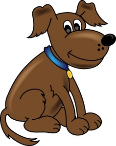 Brown dog clipart 1 » Clipart Station.