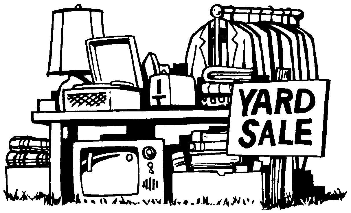 127 Garage Sale free clipart.