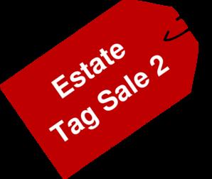 Estate Tag Sale 2 Clip Art at Clker.com.