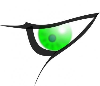 Eye Cartoon Vector.