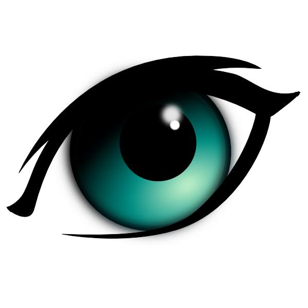 1 Eye Clipart.