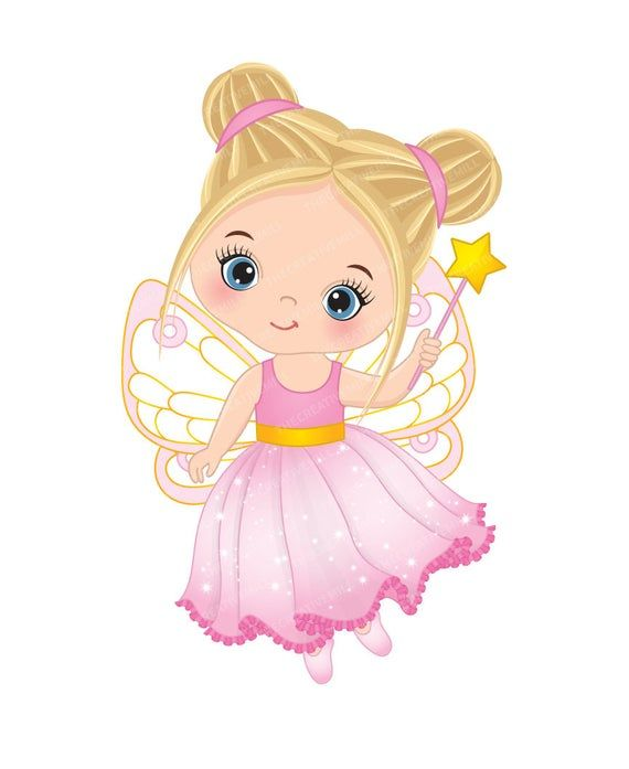 Little Fairy Clipart.