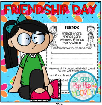 Friendship DayPerfect for End of the Year Fun or Class Behavior Award!.