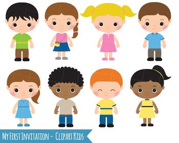 Kids Clipart, Children Clipart, Girl Clipart Boy Clip Art, download.