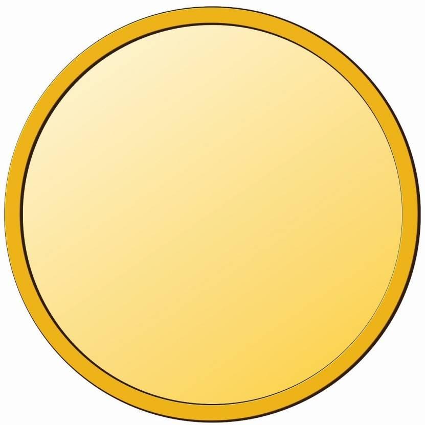 KING BULLION Plain Precious Gold Coin 1 Gm 24 (995) K 1 g.