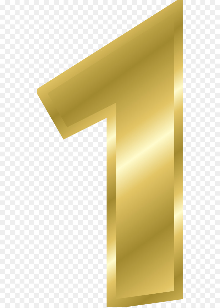 Gold Number png download.