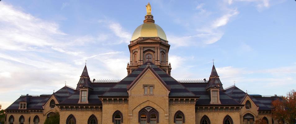 The Main Building // Campus Tour // University of Notre Dame.