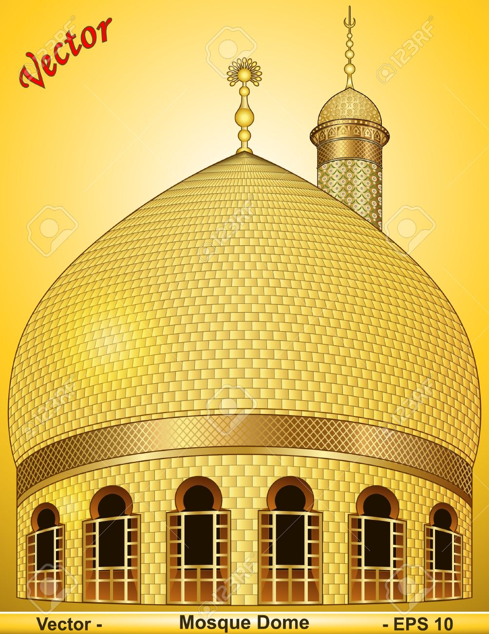 Mosque Dome Royalty Free Cliparts, Vectors, And Stock Illustration.