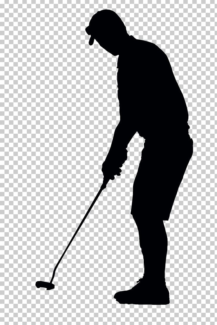 Golfer Black Silhouette PNG, Clipart, Golf, Sports Free PNG.