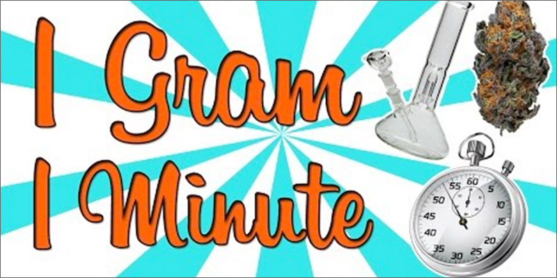 Here's What Happens When You Smash 1 Gram In 1 Minute.