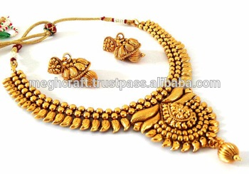 Indian Wholesale One Gram Gold Plated Jewelry.